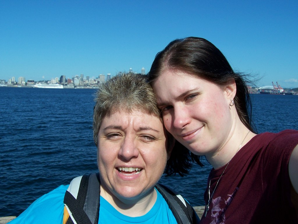 Amy and Shan in Seattle