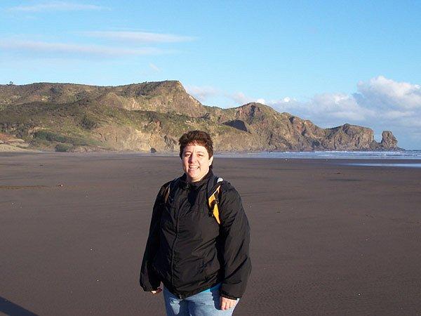 Amy @ Bethell's Beach