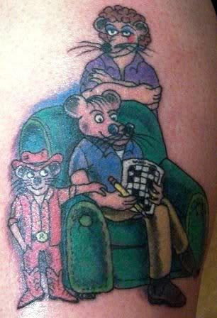 Rat Pack tattoo